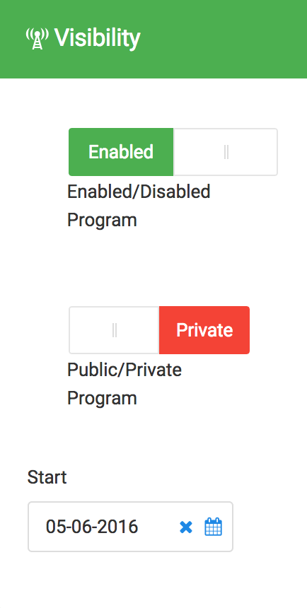 Switching from Private to Public Status
