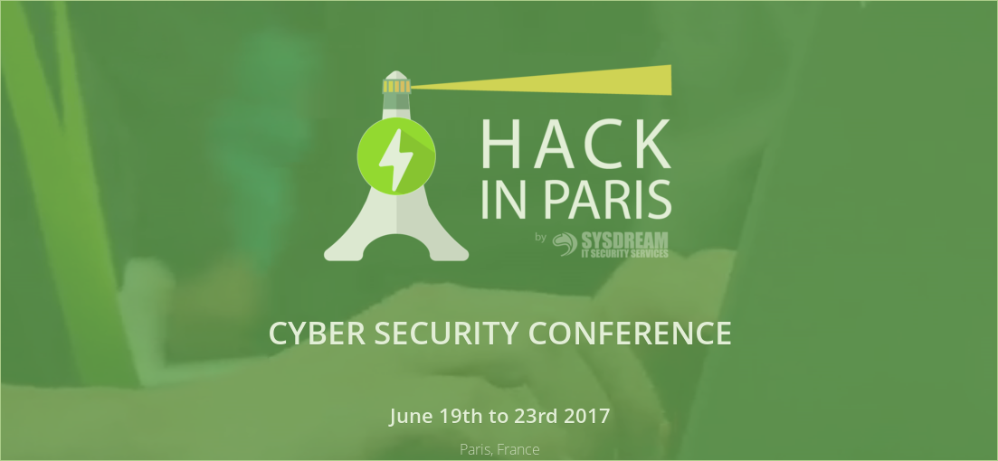 YesWeHack sponsors Hack In Paris 2017