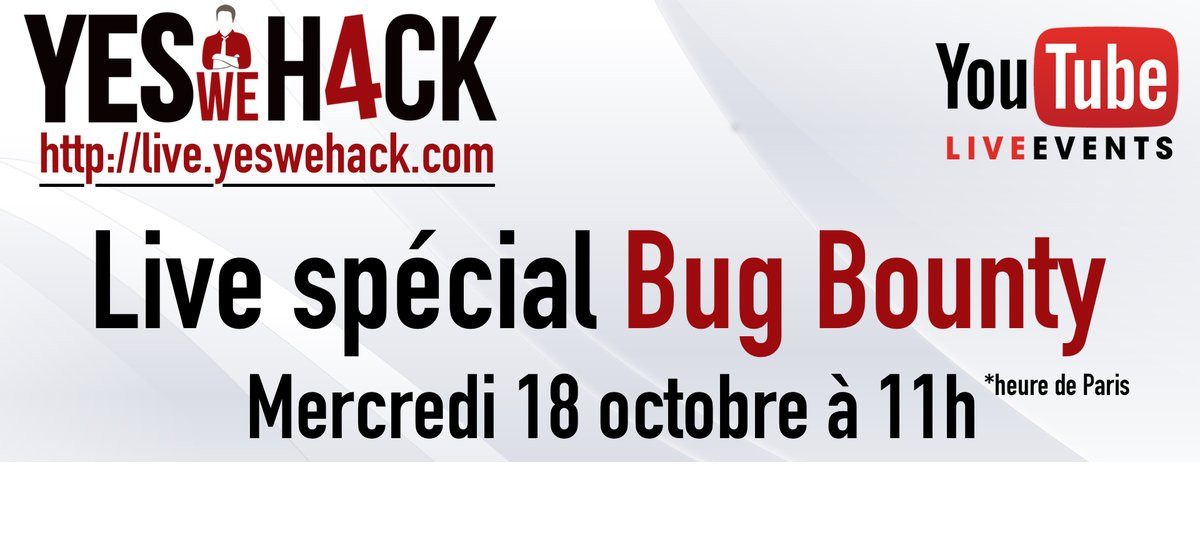 live spécial bug bounty mercredi 18 octobre youtube
