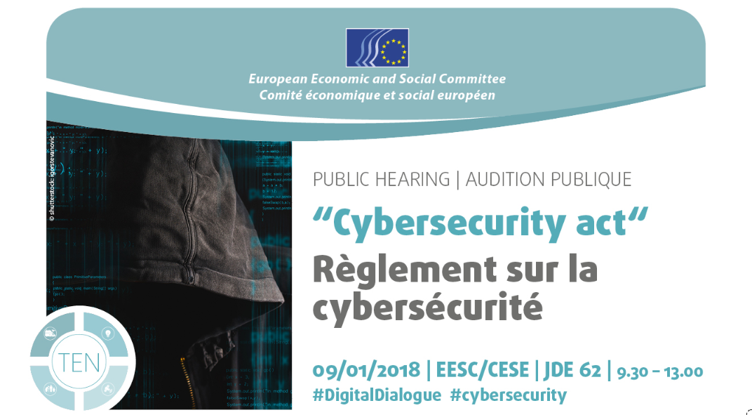 European economic and social committee - cybersecurity act