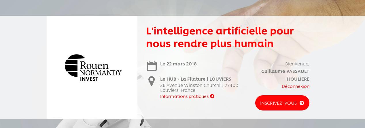 [Conf] L'Intelligence Artificielle pour nous rendre plus humain