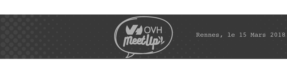 Meetup OVH Rennes : Comment rendre vos infras IaaS OVH résilientes !