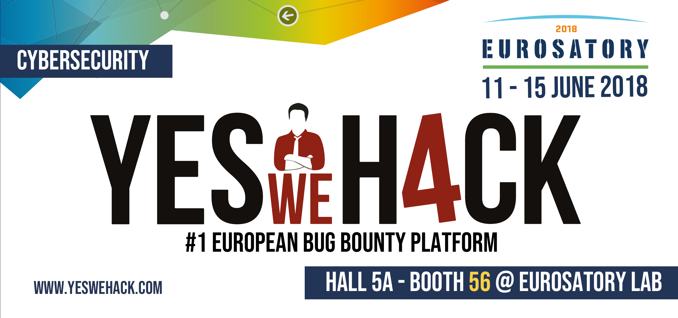 YesWeHack to attend Eurosatory 2018