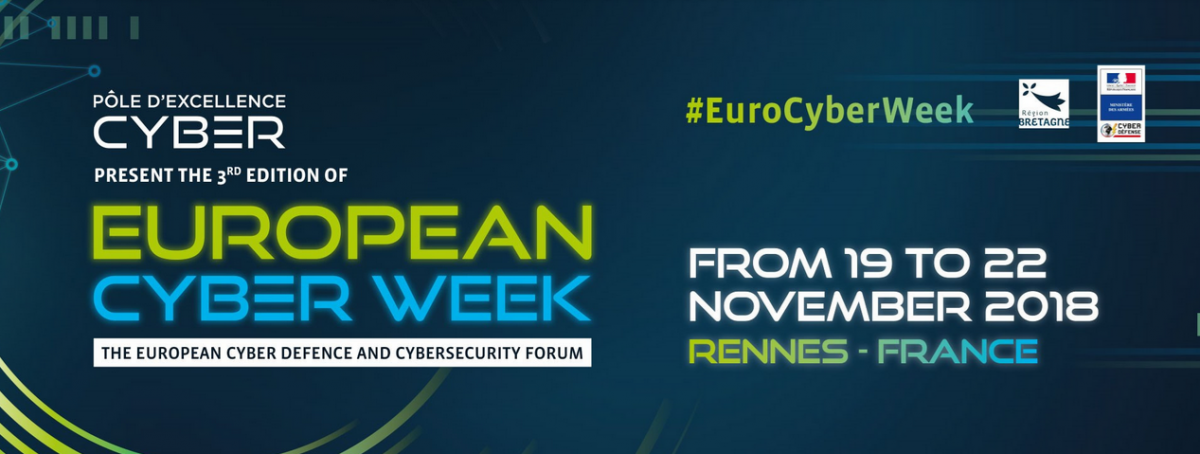 European Cyber Week 2018 | Rennes | Bretagne