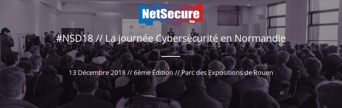 YesWeHack soutient #NSD18 // La journée Cybersécurité en Normandie