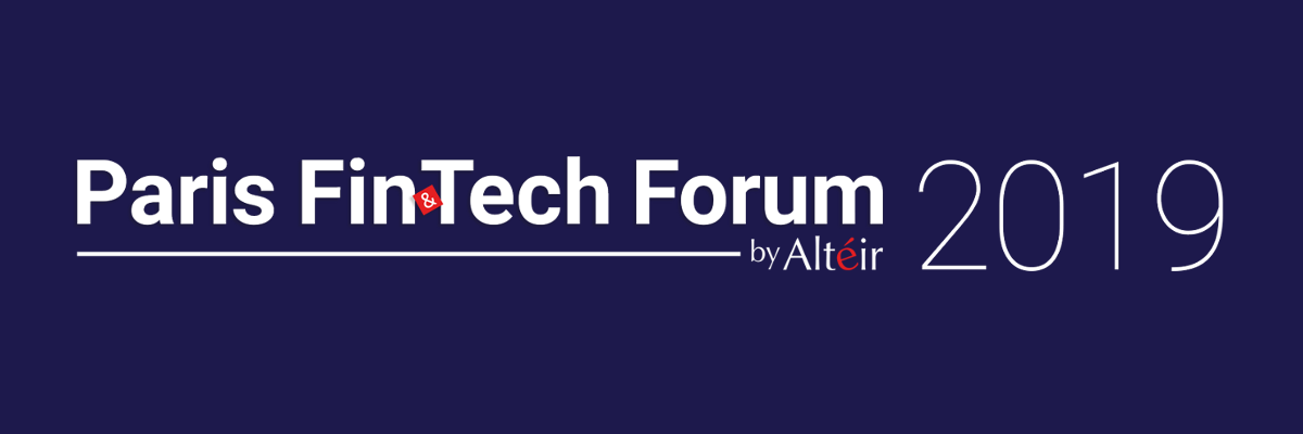 Paris Fintech forum by alteir 2019