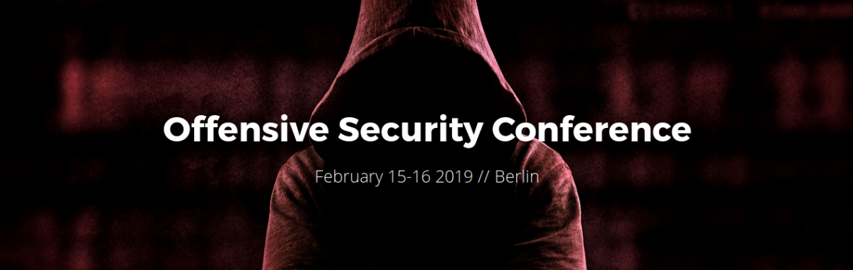 Offensive security conference