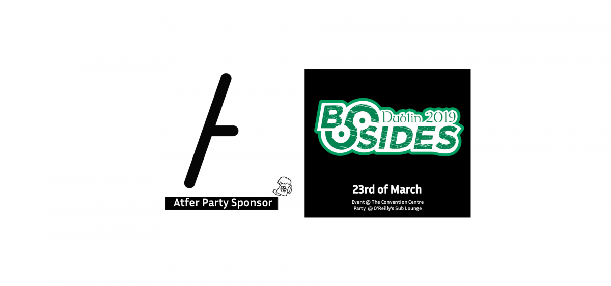 YesWeHack Official Sponsor of Security BSides Dublin 2019 - After Party -