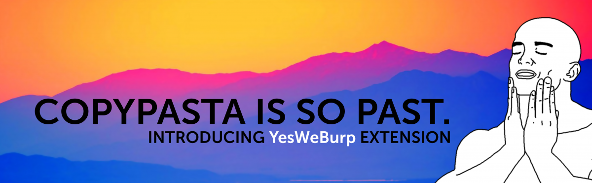 New YesWeHack Api Extension for Burp - Yes We Hack : Vulnerability