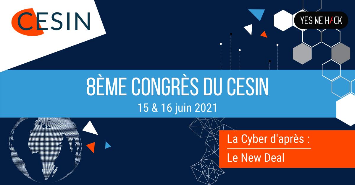 8ème congrès du cesin le 15 et 16 juin 2021