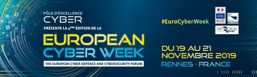 Join us at the European Cyber Week - Rennes
