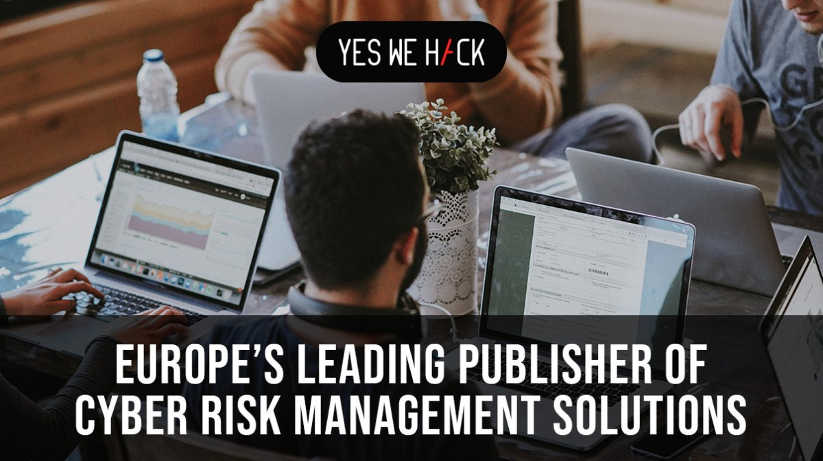 YesWeHack europe's leading publisher of cyber risk management solutions