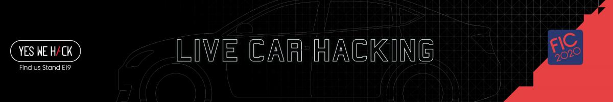 Live car hacking