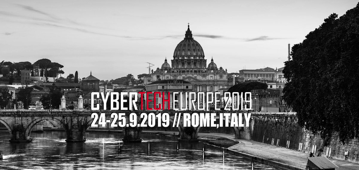 Join YesWeHack in Roma at Cybertech Europe 2019