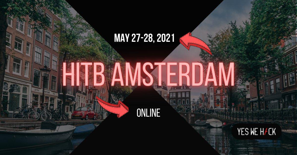 HITB Amsterdam YesWeHack - online event