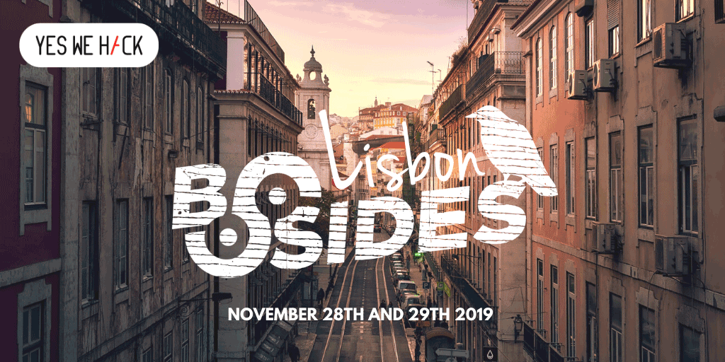 YesWeHack official sponsors of Bsides & BeerSides Lisbon 2019