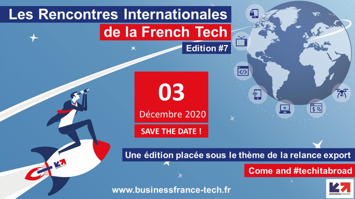 Les rencontres internationales de la french tech - 7ème édition