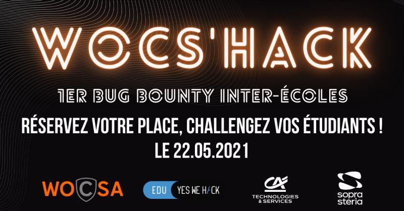 Wocs'hack - bug bounty inter-écoles
