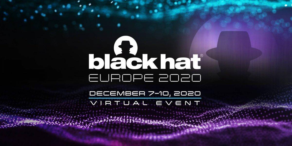 Blackhat Europe 2020 - december 7-10