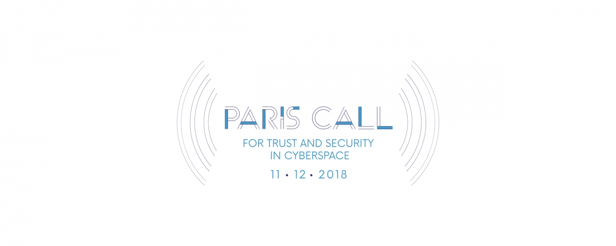 ParisCall for trust and security in cyberspace
