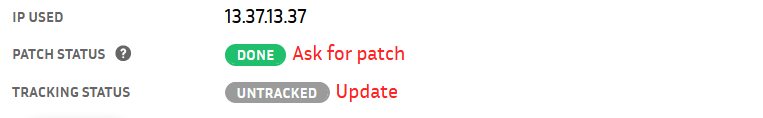 The patch is ready for testing!