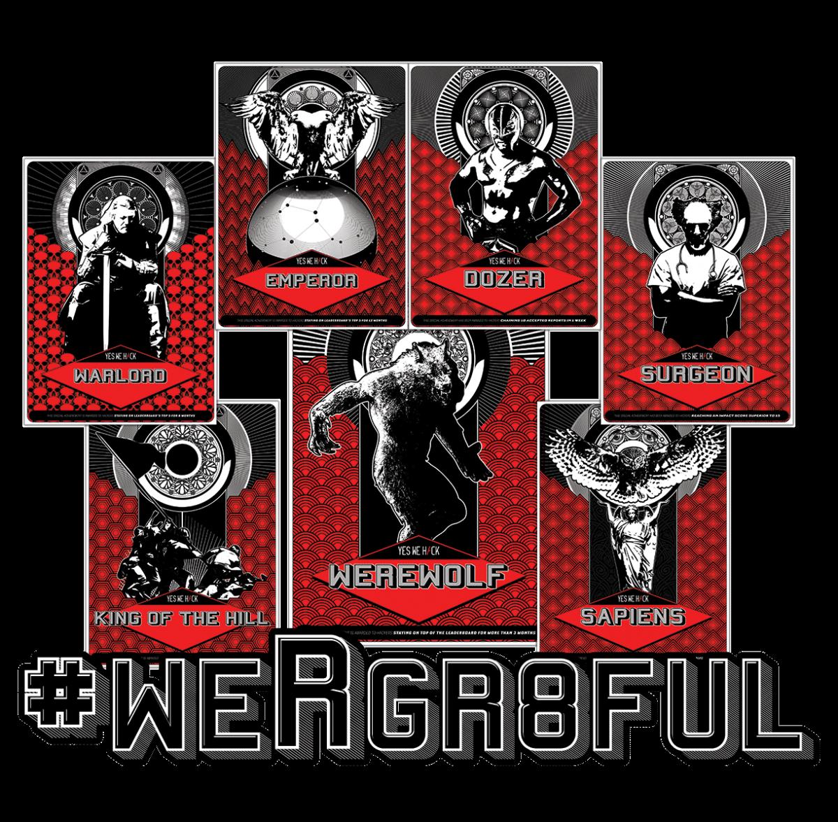 WeRgr8ful cards yeswehack