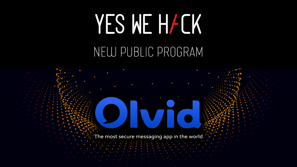 Olvid Public Bug Bounty Programme on YesWeHack